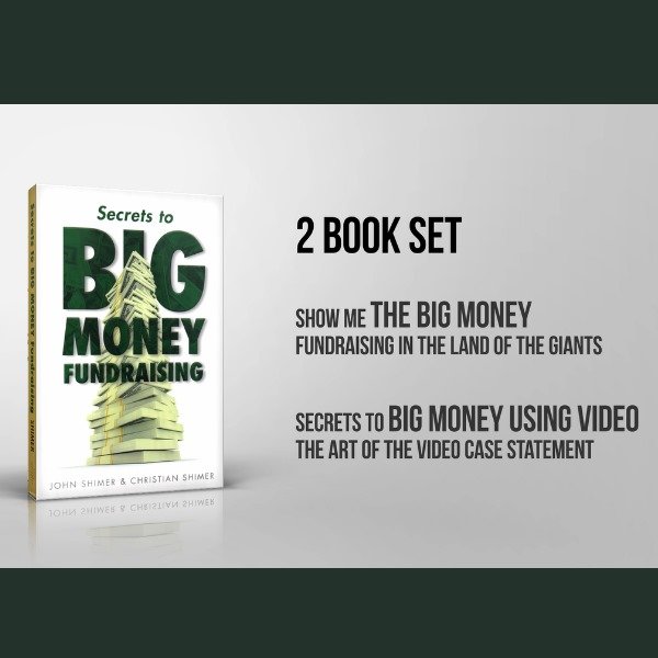 Video promotion for the books The Secrets to Big Money Fundraising for Non-Profit