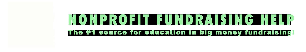 NonProfit Fundraising Help